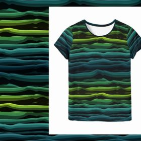 Lycklig Design Wavy Stripes