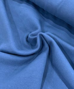 Sommer Jacquard Uni Blue