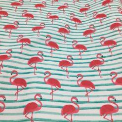 Rucksackstoff Flamingo