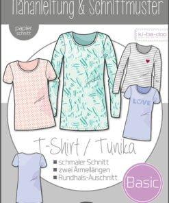 Basic T-shirt/ Tunika Mädchen