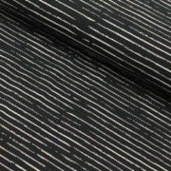Chalky stripes Weiss auf Navy
