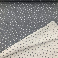 Bambus Double Gauze Double Face Dotty Navy