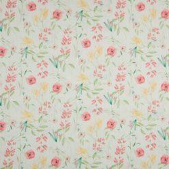 Cotton Fleur Stripes auf mint