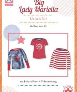 Schnittmuster Mialuna Big Lady Mariella Plus_size Shirt Stoffstübli