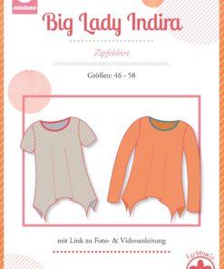 Schnittmuster Mialuna Big Lady Indira Plus_size Zipfelshirt Stoffstübli
