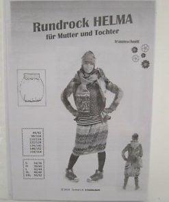 Schnittmuster Farbenmix Helma Rundrock Stoffstübli