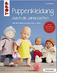 Buch Topp Puppenkleidung nähen Stoffstübli