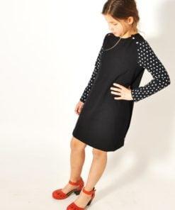 Schnittmuster Leni Pepunkt Basic.Shirt und Kleidchen Stoffstübli