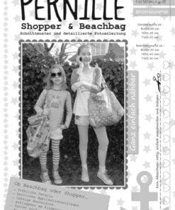 Schnittmuster Farbenmix Pernille Shoppen & Beachbag Stoffstübli