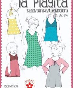 Schnittmuster Bienvenido Colorido Kleid/Tunika/Top und Bolero Stoffstübli