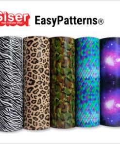 Siser Easy patterns Flexfolie Stoffstübli