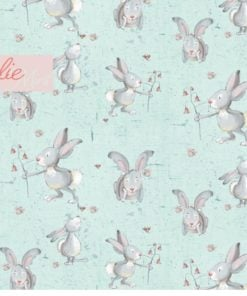 Jersey Lillestoff Rosalie mint