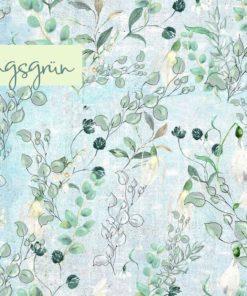 French Terry/ Sommersweat Lillestoff Frühlingsgrün Stoffstübli
