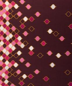 viskosejersey lycklig design in love with tiles bordeaux stoffstübli