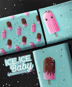Swafing Jersey Panel Ice Ice Baby by Thorsten Berger