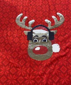 Jersey Panel Deer Stoffstübli
