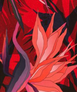 Viskose Webware Paradise Bloom Stoffstübli